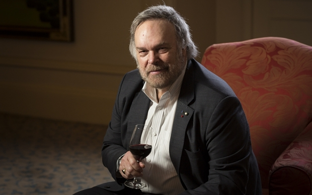 May0060622. Daily Telegraph. Robert Parker for DT Weekend. Picture shows US wine critic Robert Parker. Picture to illustrate a Victoria Moore interview. Picture date 26/02/2015