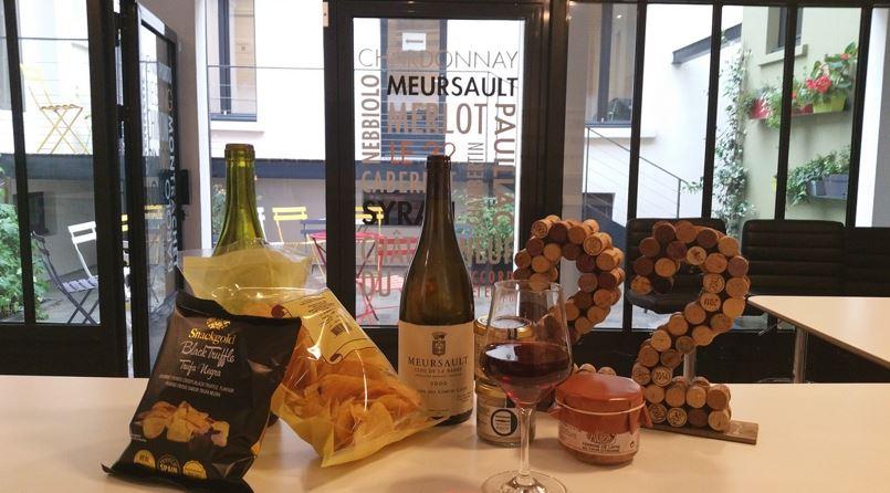 Soirée d'inauguration de notre bar à vin !