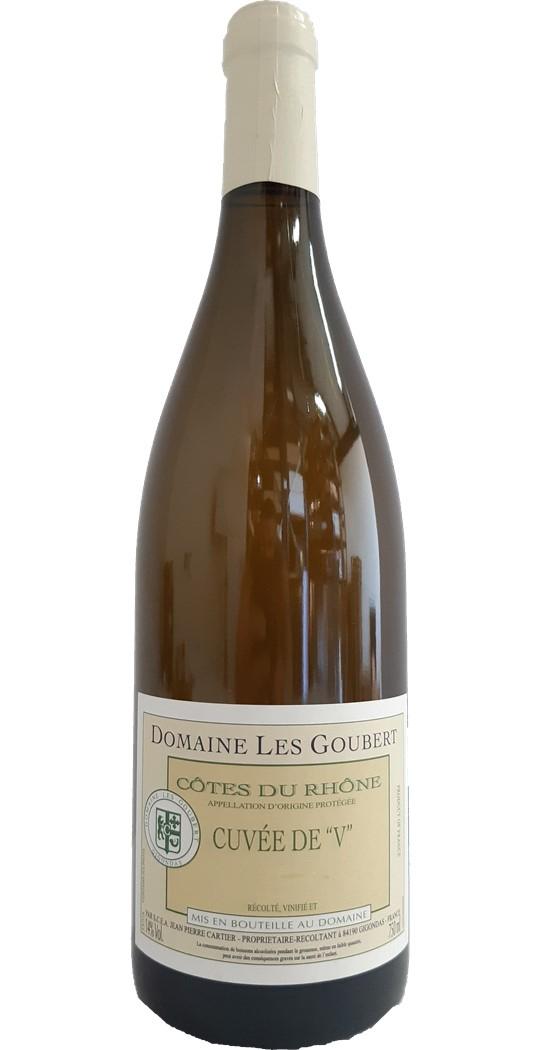 """Côtes du Rhône blanc Cuvée de """"V"""""""