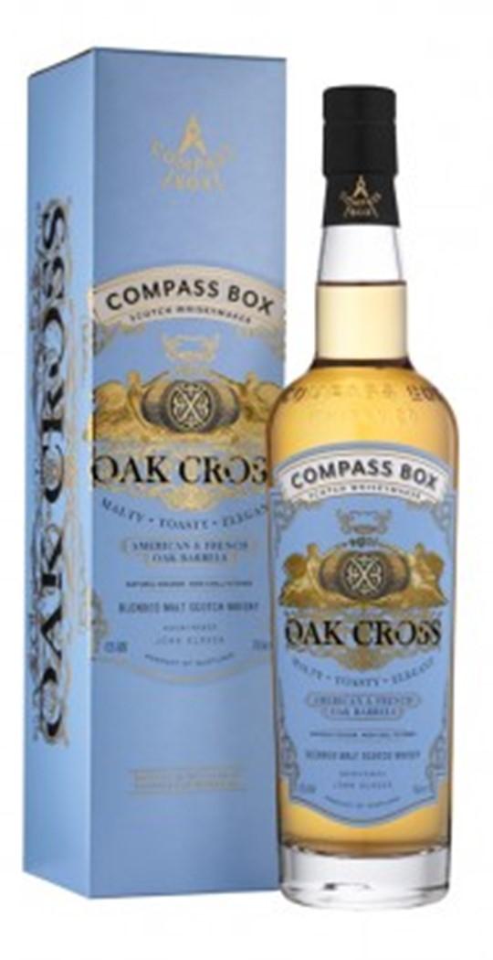 Whisky Ecossais Blended Malt Oak Cross