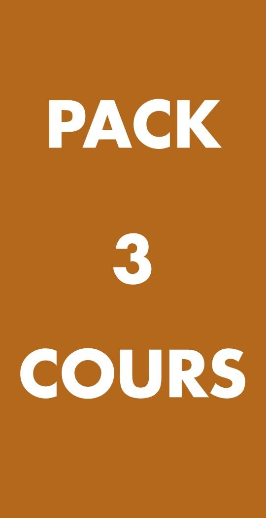 PACK 3 COURS AFTERWORK DU VIN - 65€