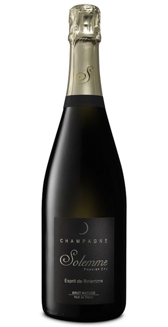 Champagne Brut Nature Esprit de Solemme