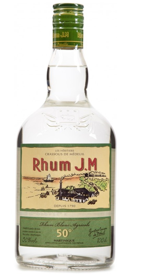 Rhum Agricole Blanc JM